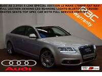 2010 Audi A6 Saloon 2.0TDI (170ps) Le Mans-LEATHER-HEATED SEATS-SAT NAV-F.S.H..