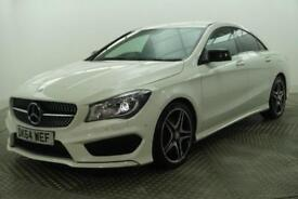 2014 Mercedes-Benz CLA CLA220 CDI AMG SPORT Diesel white Automatic