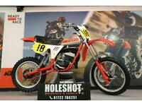 CAGIVA 125 1982 EVO MOTOCROSS BIKE VERY CLEAN AND TIDY EXAMPLE
