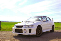 1998 Mitsubishi Evolution 5 GSR Sedan W/ UPGRADES