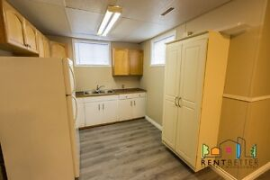Newly Renovated Basement Suite Available Immediately!