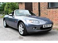 2006 MAZDA MX5 2.0 OPTION PACK CONVERTIBLE. 66000 MILES WITH SERVICE HISTORY.