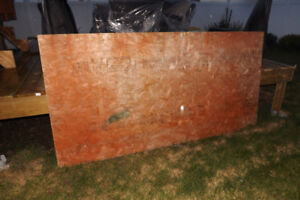 4x8 plywood for sale 3/8 inch thickness asking for  9.99$ in gd