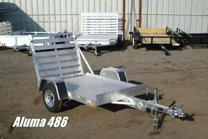 Aluminum Utility Trailers by Miska – Great In Stoc