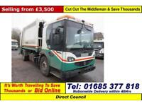 2007 - 07 - DENNIS ELITE 2 4X2 18TON FARIO BODY REFUSE VEHICLE (GUIDE PRICE)