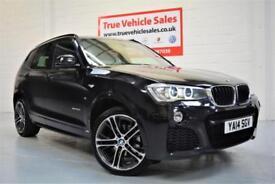 BMW X3 2.0TD 190bhp 4X4 Auto xDrive20d M Sport - LOW RATE PCP £318 PER MONTH