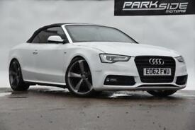 2012 Audi A5 Cabriolet 2.0 TDI S line Cabriolet Multitronic 2dr