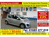2013 - 13 - CITROEN C1 VTR 1.0 PETROL 5 DOOR HATCHBACK (GUIDE PRICE)