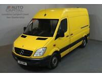 MERCEDES-BENZ SPRINTER 2.1 313 CDI 129 BHP MWB HIGH ROOF A/C