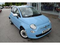 2013 Fiat 500 1.2 Colour Therapy 3dr Petrol blue Manual