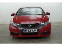 2013 Honda Civic I-VTEC SE Petrol red Manual