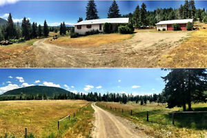 Beautiful 20+ Acres Private Walkout Rancher