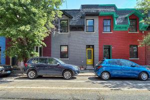 Magnifique maison rénovée à Pointe-St-Charles
