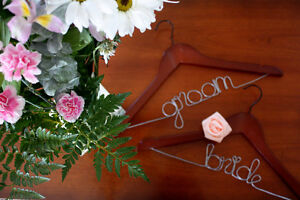Personalized Wedding Hangers (2 for $30)