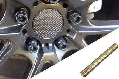 4x Alufelgen Felgen Naben Deckel Design Folie Carbon Chrom Gold viele Fahrzeuge