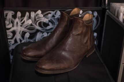Hudson Boots (Mitchell Brown Boot) Size 10