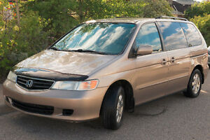 2003 Honda Odyssey EX L (Leather) - MUST SELL ASAP