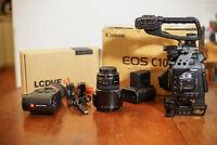 Canon EOS C100 with Dual Pixel CMOS AF + accessoires