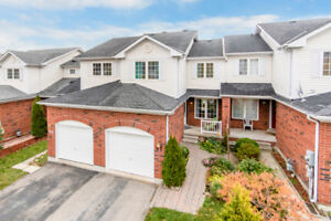Fully-Finished, Well-Maintained Townhouse - 61 Pickett Cres.
