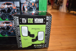 KOLPIN SIDE BY SIDE MIRRORS * SOLD IN PAIRS * IN STOCK NOW!