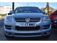 2007 57 Volkswagen Touareg 3.0TDI Auto GOOD & BAD CREDIT CAR FINANCE AVAILABLE
