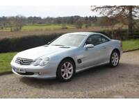 Mercedes-Benz SL350 3.7 auto, hard top convertible & panoramic roof