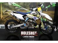 2016 HUSQVARNA TE 250 ENDURO BIKE TALON WHEEL SET, RENTHAL HANDLE BARS, NEW GRIP