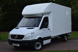 Mercedes Benz Sprinter luton 313 cdi 130 bhp with 500kg tail lift