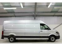 2020 AUTOMATIC BRAND NEW MAN TGE CRAFTER HIGHLINE AUTO 140 SILVER CAMPER SAT NAV