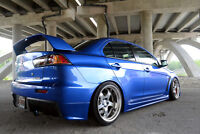 Wanted: Mistubishi lancer Tall wing or Trade 4 my low wing