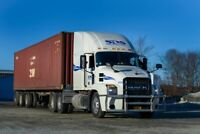 Class 1 Tractor Trailer Drivers - Regional and Long Haul