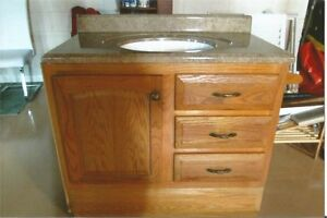 Bathroom Vanity with Counter Top
