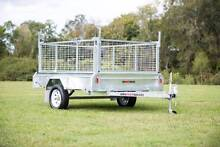 7x5 Welded Hot dipped Galvanised Cage Box Tipper Tilt Trailer Beachmere Caboolture Area Preview