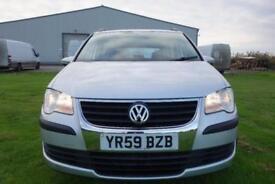 2009 Volkswagen Touran 1.9 TDI S MPV 5dr (7 Seats)