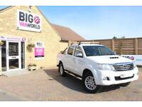 2015 TOYOTA HI-LUX INVINCIBLE 4X4 D-4D 171 DOUBLE CAB WITH ROLL'N'LOCK TOP PICK