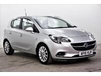 2015 Vauxhall Corsa SE Petrol silver Automatic