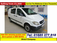 2006 - 06 - MERCEDES VITO 111 COMPACT 2.2CDI DOG VAN (GUIDE PRICE)
