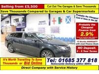 2013 - 63 - TOYOTA AVENSIS ICON 2.0 D-4D 5 DOOR ESTATE (GUIDE PRICE)