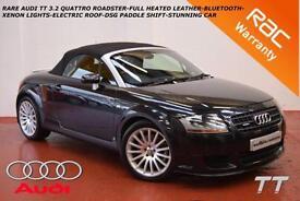 05 Audi TT Roadster 3.2 V6 QUATTRO-RARE MODEL-FULL HEATED LEATHER-XENONS-