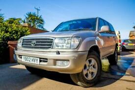 image for 2002 Toyota LAND CRUISER AMAZON 4.2 TD GX 5dr 7 Seats 154215 miles 1 lady owner