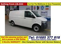 2012 - 12 - VOLKSWAGEN TRANSPORTER T28 2.0TDI 84PS SWB VAN (GUIDE PRICE)