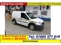 2011 - 61 - FORD TRANSIT CONNECT T200 1.8TDCI 75PS SWB VAN (GUIDE PRICE)