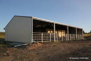SHEDZONE   Farm Sheds Specials  Zinc/Colour Boonah Ipswich South Preview