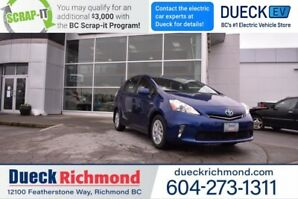2014 Toyota Prius V BASE  - Heated Seats, Bluetooth