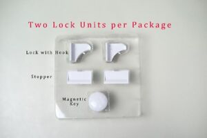 Magnetic Locks for Childproofing Drawers/Cupboards