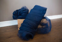 Wedding Decor - Navy Blue Toile for sale