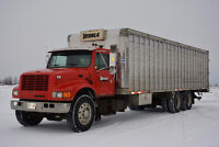 1995 Int.Livestock Truck with 30 ft EBY box