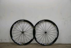 Mavic ellipse track wheelset fixed gear wheels