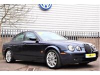 2007 Jaguar S-Type 2.7 D V6 Sport 4dr Diesel blue Automatic