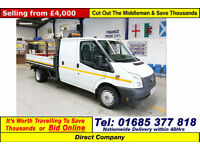 2012 - 12 - FORD TRANSIT T350 2.2TDCI 100PS RWD DOUBLE CAB DROPSIDE GUIDE PRICE